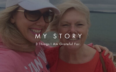 3 Things I Am Grateful For Right Now