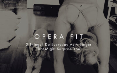 3 Things I Do Everyday As A Singer That Might Surprise You